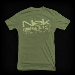 T-Shirt Green Nek The quartet experience
