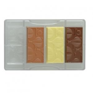 Stampo cioccolato tavoletta mongolfiere