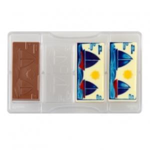 Stampo cioccolato tavoletta barche a vela