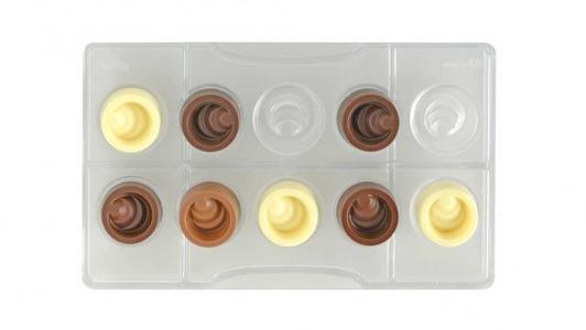 Stampo cioccolato tondo scalare