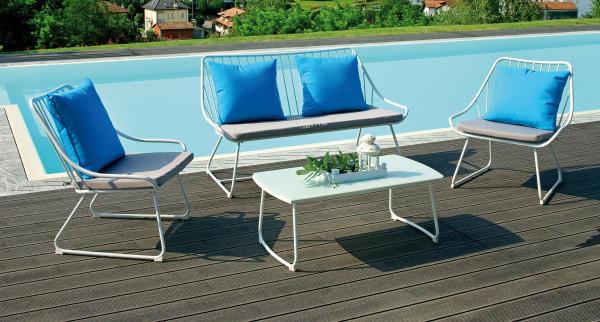 Dimensioni larghezza tavolo 45 cm lunghezza tavolo 90 cm for Poltroncine in ferro da esterno