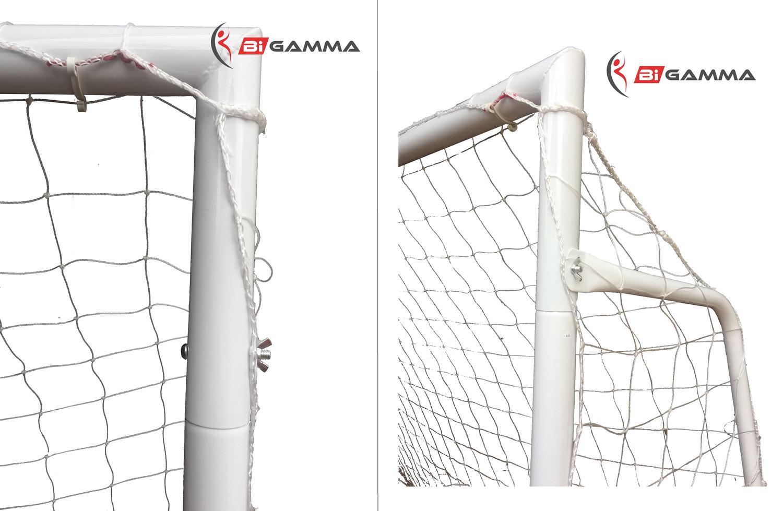 Porta da calcio regolamentare a tubi maggiorati da 50 mm - Misure porta di calcio ...