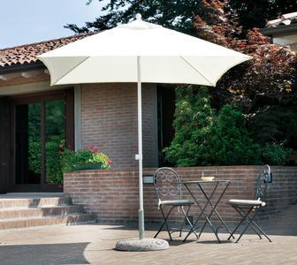 Ombrellone Quadrato 2,2 x 2,2 mt In Alluminio Con Palo Centrale DENIS COD 5004