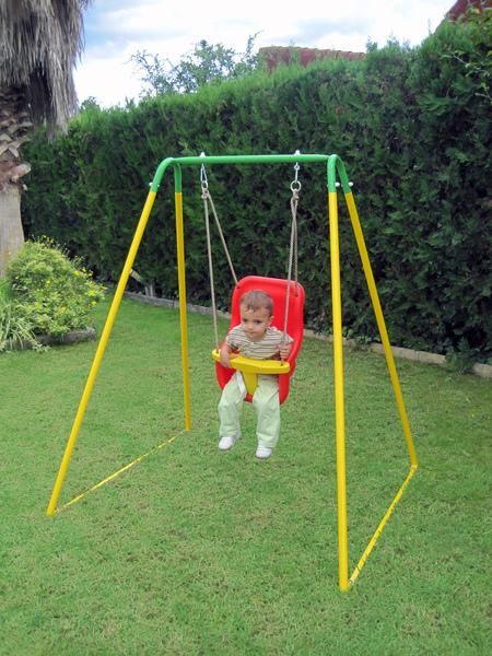 Columpio infantil j150 asiento beb molderdisnova - Columpio infantil jardin ...