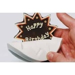 mould silicone happy birthday silikomart