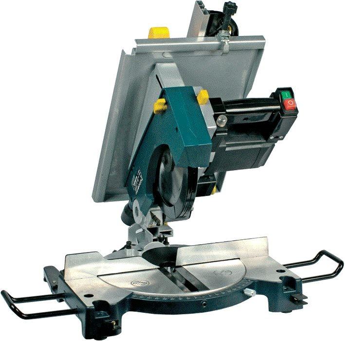 Troncatrice combinata 1200w yamato sega circolare taglio 92004 for Obi taglio legno