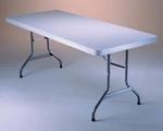 Tavolo pieghevole 183 x 76 x 74 per catering sagre mercatini buffet riunione