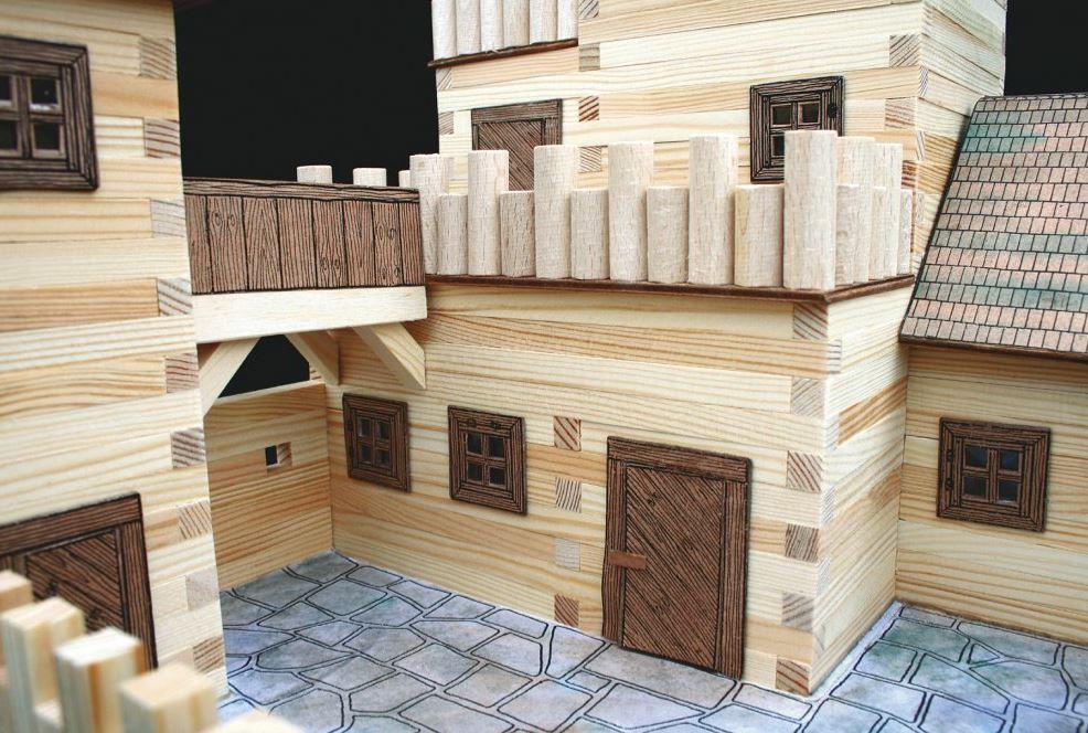 Costruzioni gioco costruzioni legno mattoni legno for Kit di costruzione portico
