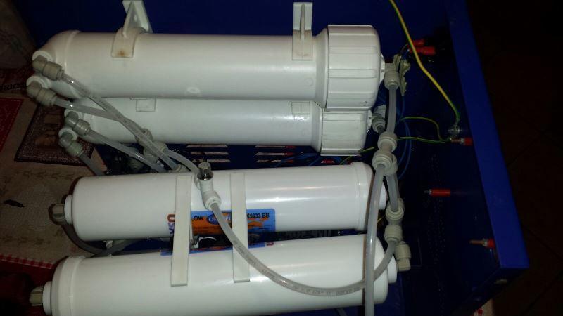Come fare la manutenzione di un depuratore ad osmosi inversa?