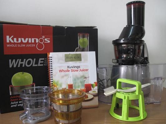Kuvings Whole Slow Juicer Romania : Estrattore di succo Kuvings - Silent Juicer B6000S Estrattore di Succhi - Silver Originale ...