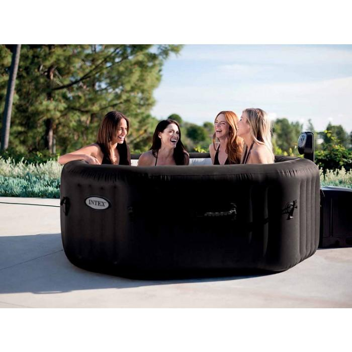 intex gonfiabile spa pure spa jets 6 posti. Black Bedroom Furniture Sets. Home Design Ideas