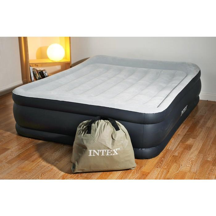 Materasso gonfiabile intex 67738 letto matrimoniale - Matelas gonflable ez bed ...