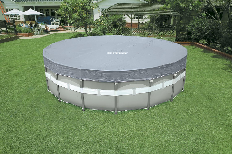 Intex 28041 deluxe il telo di protezione universale per for Coperture per piscine fuori terra intex