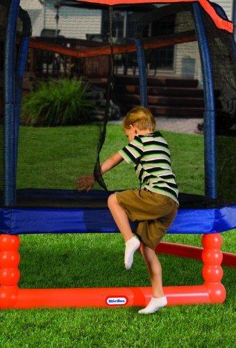 Casetta Giardino Feber : Tappeto elastico da giardino per bambini trampolino