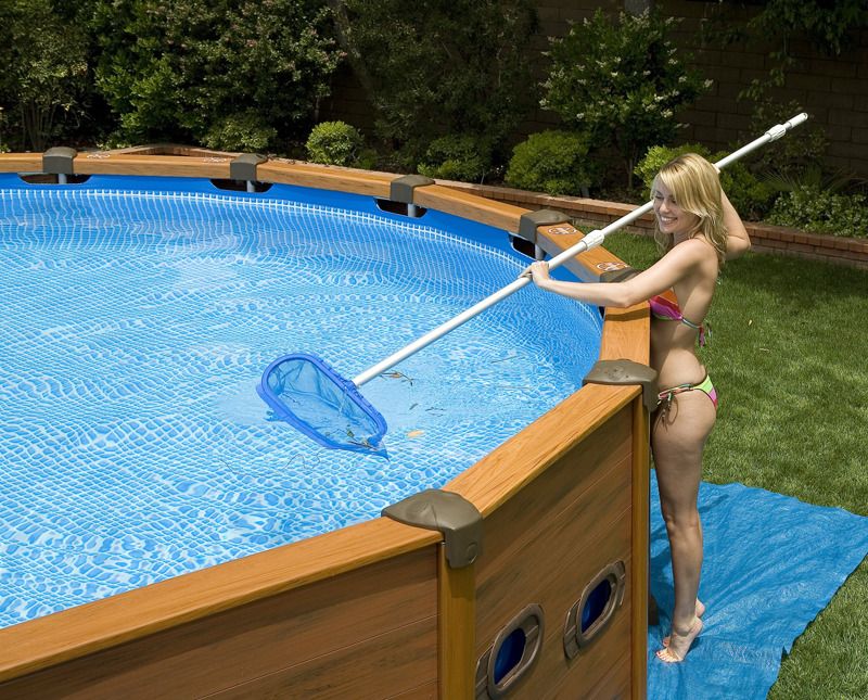 Piscina intex sequoia spirit cm 478 x 124cm con pompa for Piscine intex amazon