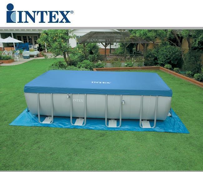 Piscina intex 28352 ultraframe rettangolare misura 549 x for Prodotti intex