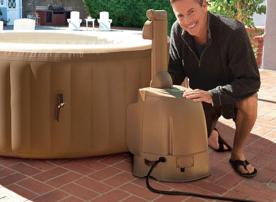 idromassaggio 28404 pure spa bubble therapy con pompa. Black Bedroom Furniture Sets. Home Design Ideas