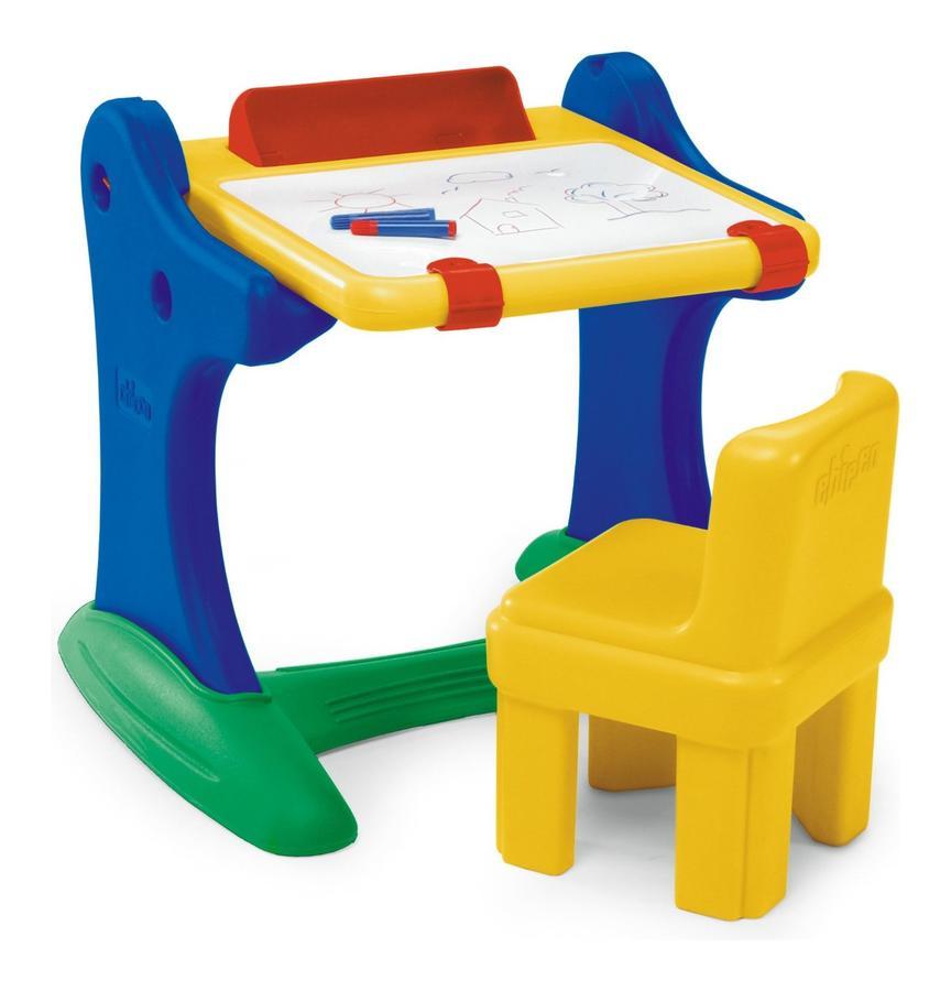 Banco della scuola con lavagna e sedia chicco 30401 for Recinto per bambini ikea