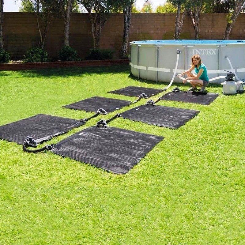 Pannelli solari termici per piscine per alzare temperatura for Calefactor para piscina