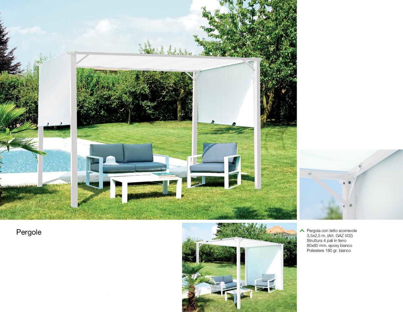 Descrizione completa pergola dallo stile contemporaneo - Pergola da giardino ...