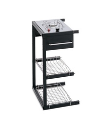 Barbecues professionale a gas BST Magnum fornello laterale