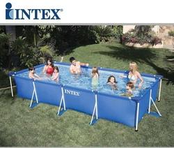 Piscina fuoriterra INTEX 28273 rettangolare cm 450 x 220 x 84 cod INTEX Code 28273