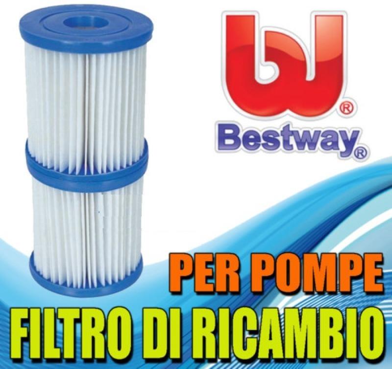 Filtri di ricambio bestway 58093 per pompa piscina 1249 - Filtri per piscine ...