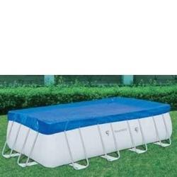 Telo copertura piscina rettangolare cm 287 x 201 mod Bestway 58231