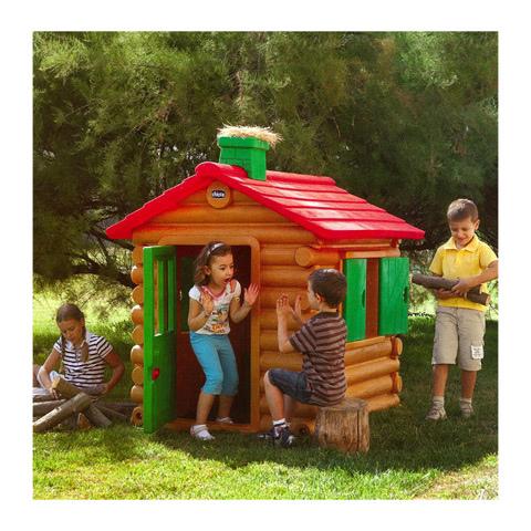 Casetta per bambini da giardino chicco simil chalet legno for Amazon casette per bambini