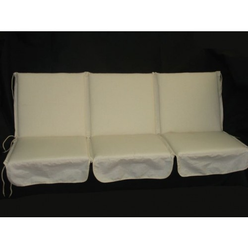 cuscino per dondolo 3 posti 96x160 cm papillon poly 250 gr double