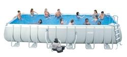Piscina Intex 54990 Ultra Frame Rettangolare 975 x 488 x 132 con filtro sabbia