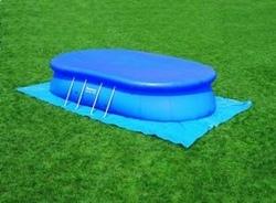 Telo Bestway 58154 per piscine ovali di misura 549x366 cm adatto per piscine autoportanti