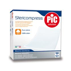 PIC STERICOMPRESS Compresse di Garza Sterili 10 x 10 cm