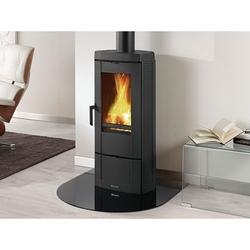 Stufa a legna La Nordica Extraflame CANDY 7 kw a fuoco continuo in ghisa smaltata Potenza Termica Nominale 7.2 kW 206 m3 Riscaldabili Colore Nero