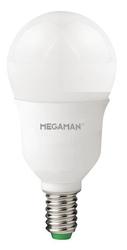 Lampada Megaman LED SFERA ENTRY E14 5W 400lm 2800K