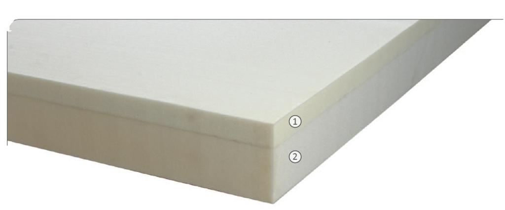 Materasso memory mod super confort 90 bioactive - Altezza materasso ...