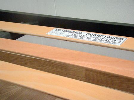Rete per materasso a 14 doghe in faggio VIENNA 90x200 cm. 100 ...