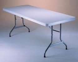 Tavolo pieghevole LUNGO 242 x 76 x 74 per catering sagre mercatini buffet riunione