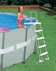 Scaletta per Piscina INTEX 28074 122/132 cm piscina piscina scala scala Intex 28074 per sicurezza bambini