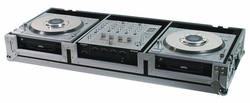 Road Ready RRDJDZMZW flight case per console dj