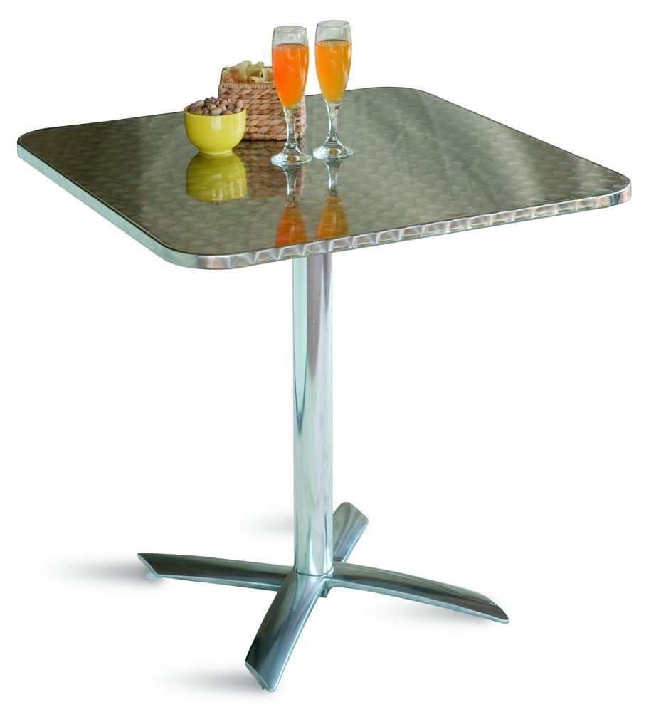 Tavolo bar professionale quadrato 70 x 70 pieghevole in for Tavolo 70 x 120