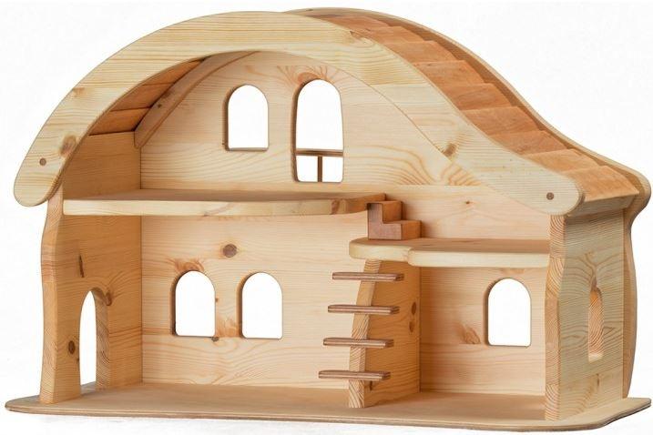 Casa bambole casa delle bambole casa legno casa bambini - Casa delle bambole in legno ikea ...