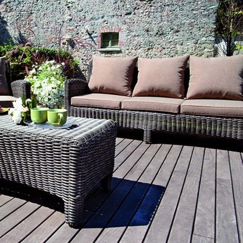 Tavolino Giardino Wicker Shanghai : Set divanetto giardino porto rotondo divano poltrone