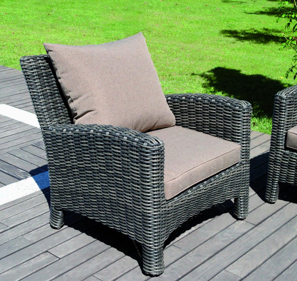 Set divanetto giardino porto rotondo divano 2 poltrone for Amazon poltrone