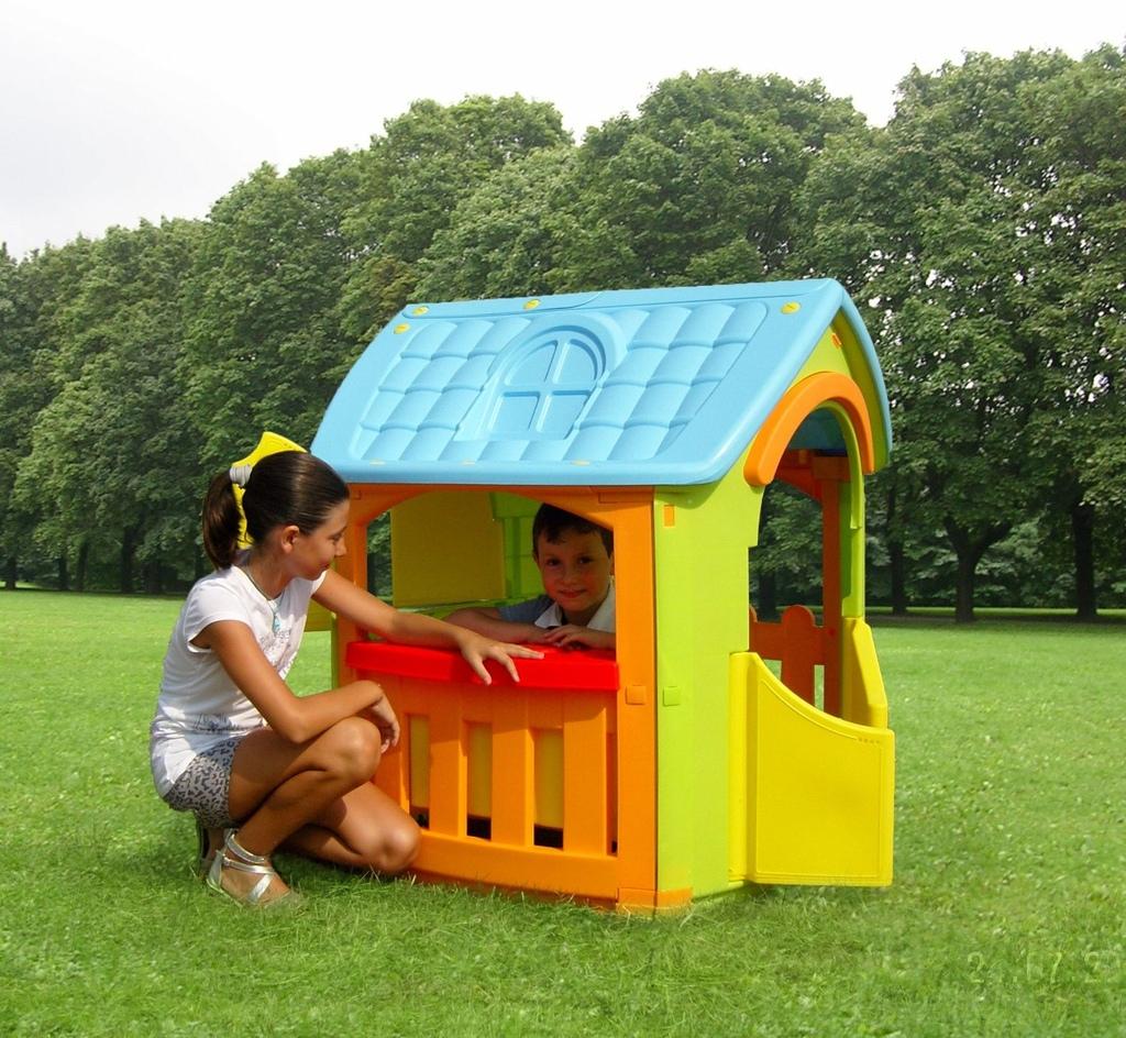 Casetta da giardino casa per bambini chef cp1392 for Grande casetta per bambini