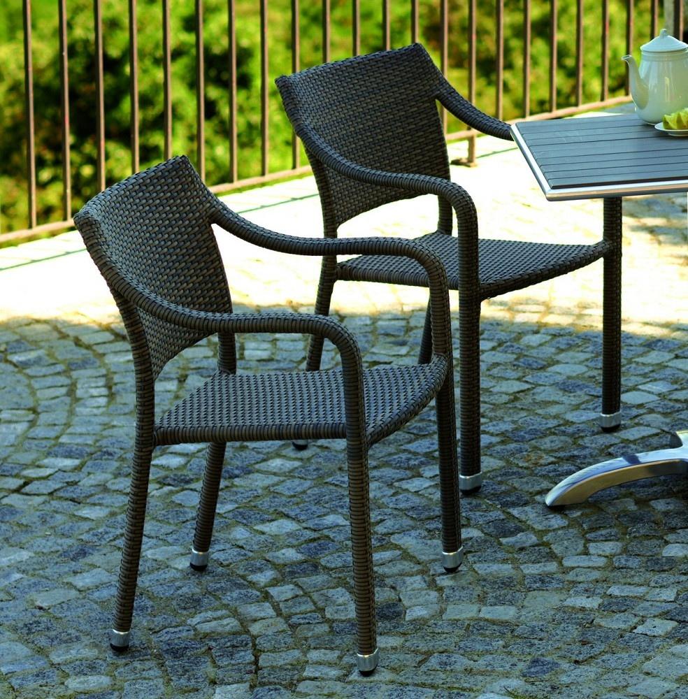Descrizione la sedia malta chw49 realizzata in wicker - Sedia in rattan ...