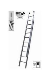 SCALA ALLUMINIO MAURER 2x15 GRAD.cm 450-790 EN131 052989
