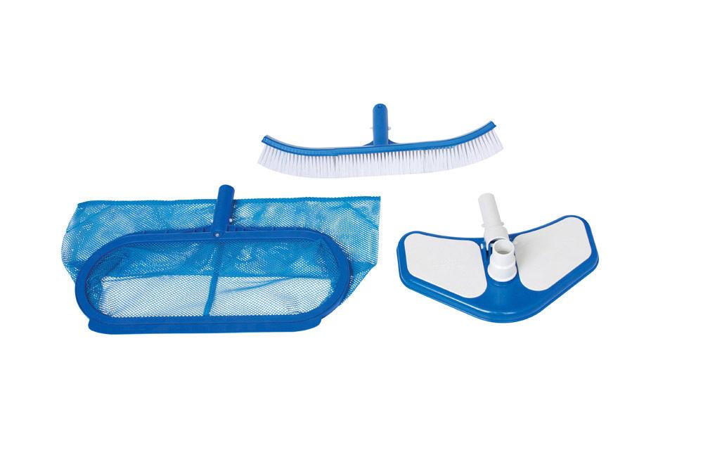 intex kit accessori retino spazzola pulizia manutenzione