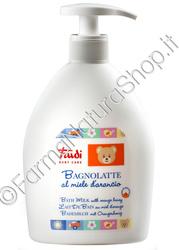 TRUDI Baby Care - Bagnolatte al Miele di Arancio 500 ml.
