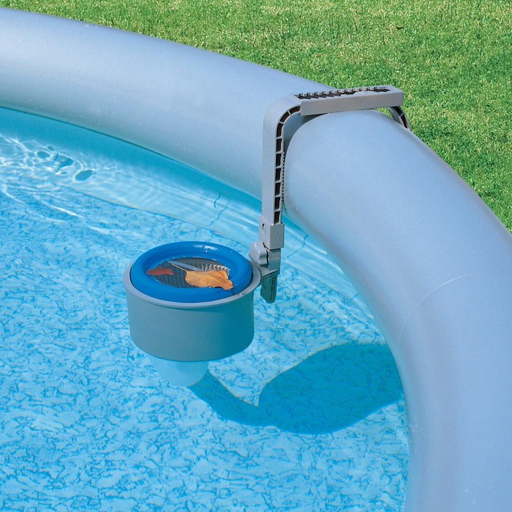 Skimmer bestway 58233 da parete per piscine per pulizia for Cuscini galleggianti piscina